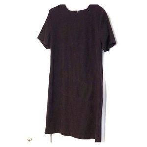Eggplant faux suede dress size 18
